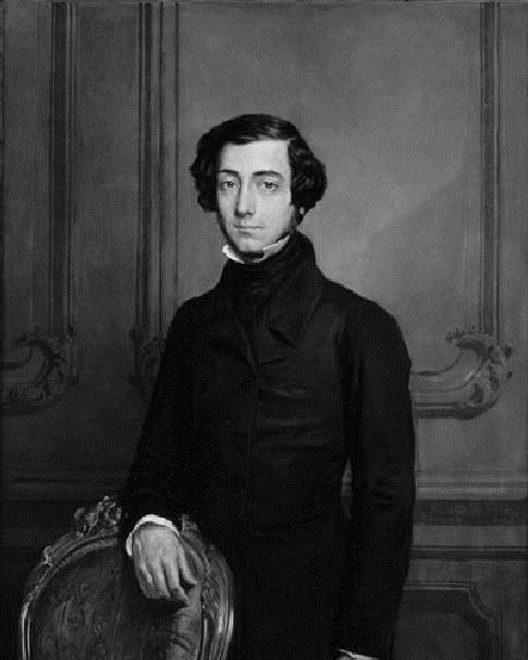 Alexis de Tocqueville Portrait
