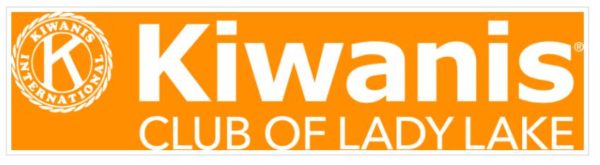 Kiwanas Club of Lady Lake Logo