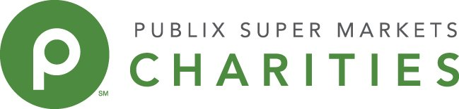 Publix Supe rMarket Charities with circle logo horizontal green