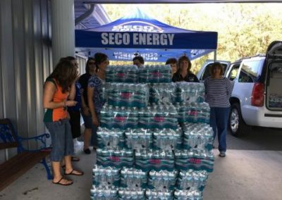 SECO Helps with Hurricane Relief Efforts