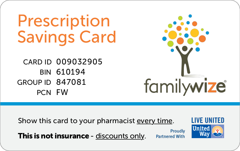 familywize discount card