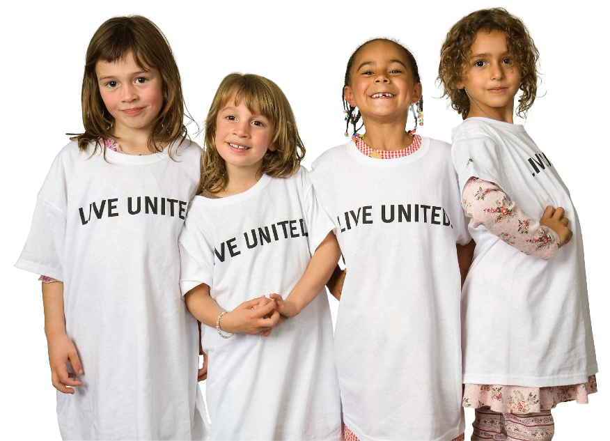 live united four little girls
