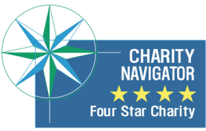 Charity Navigator Four Star Charity Badge
