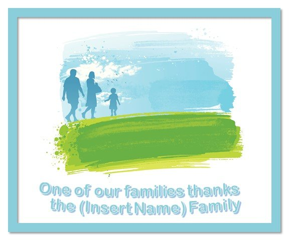 Sponsor Badge - Support a Family